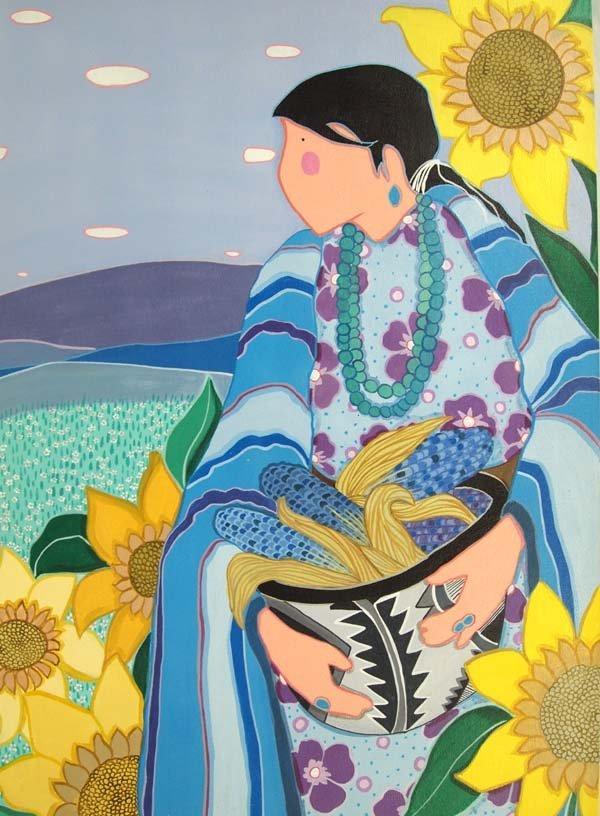 Original Cherokee Creek Painting by V. Stroud - 2