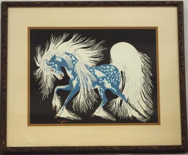 Native American Woody Crumbo Acrylic Print