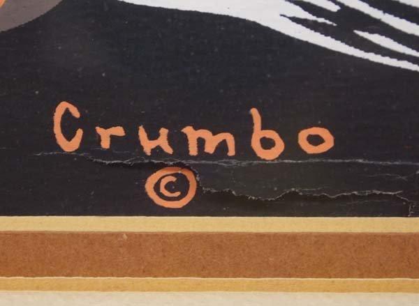 Native American Woody Crumbo Acrylic Print - 2