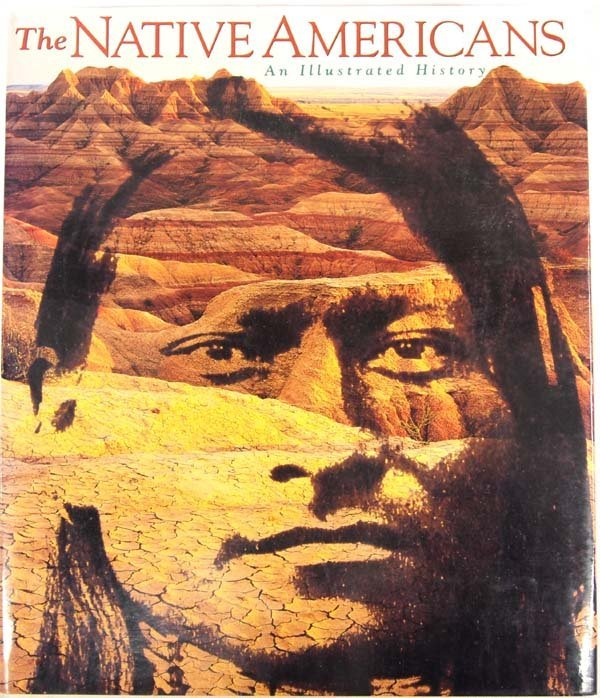 Hard Cover Book ''The Native Americans''
