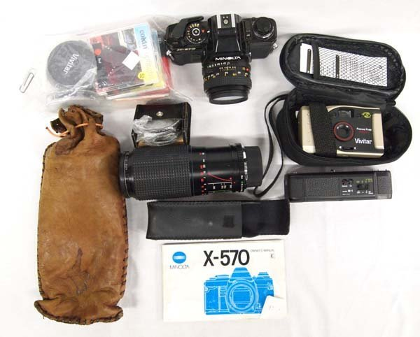 Collection of Cameras & Accessories.