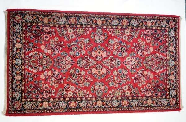 Vintage Estate Karastan Sarouk Design Wool Rug