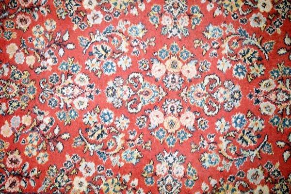 Vintage Estate Karastan Sarouk Design Wool Rug - 2