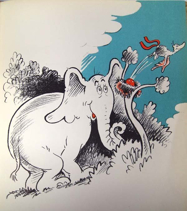1940 First Edition Horton Hatches a Who, Dr. Seuss - 3