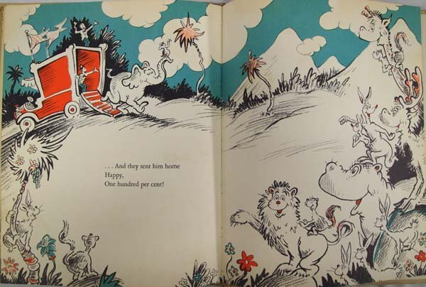 1940 First Edition Horton Hatches a Who, Dr. Seuss - 5