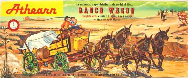 1962 Athearn Model Ranch Wagon K 232 49