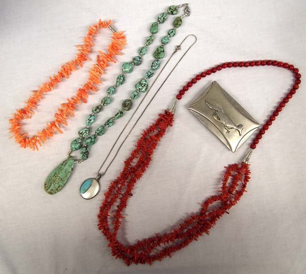 Collection of Southwestern Jewelry