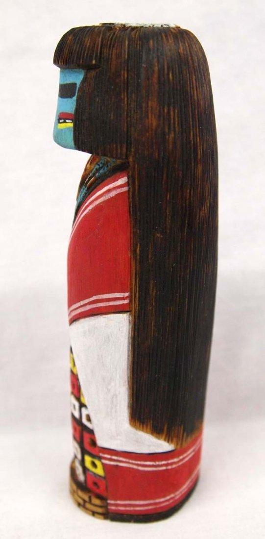 Carved Hopi Tewa Girl Kachina - 2