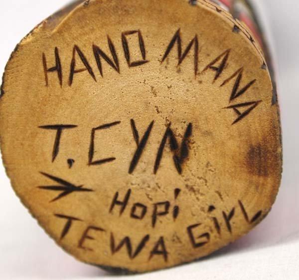 Carved Hopi Tewa Girl Kachina - 4