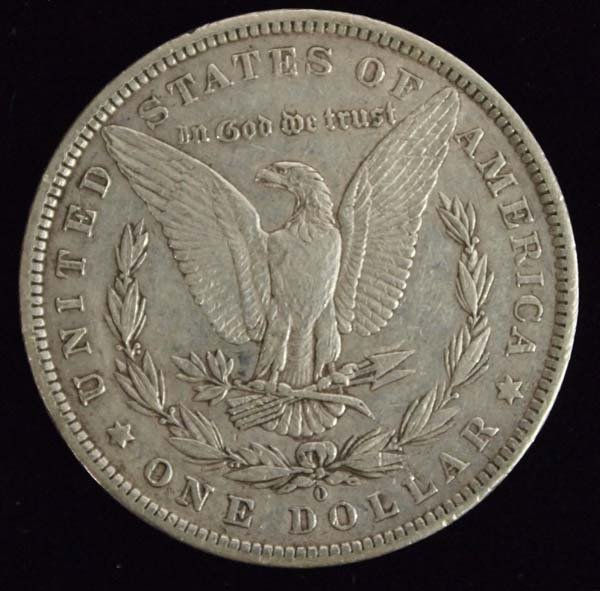 1883-O Morgan Silver Dollar - 2