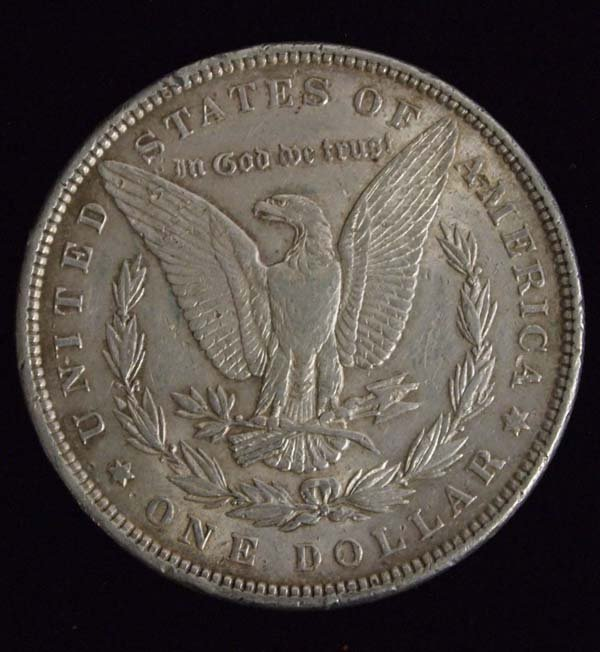 1897 Morgan Silver Dollar - 2