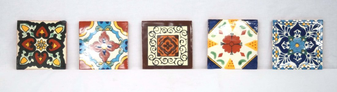 5 Handmade Mexican Tiles