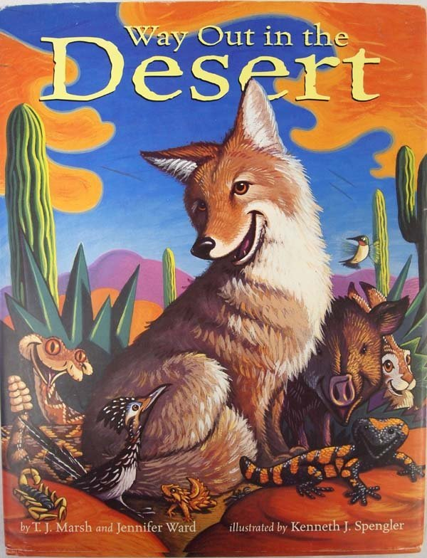 Way Out in the Desert by Marsh and Ward, Hardback