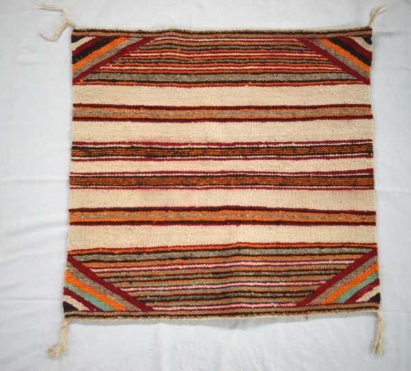1950 Navajo Wool Textile Rug