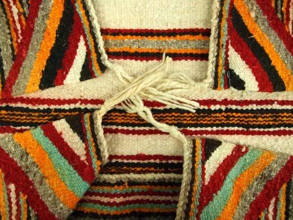 1950 Navajo Wool Textile Rug - 2