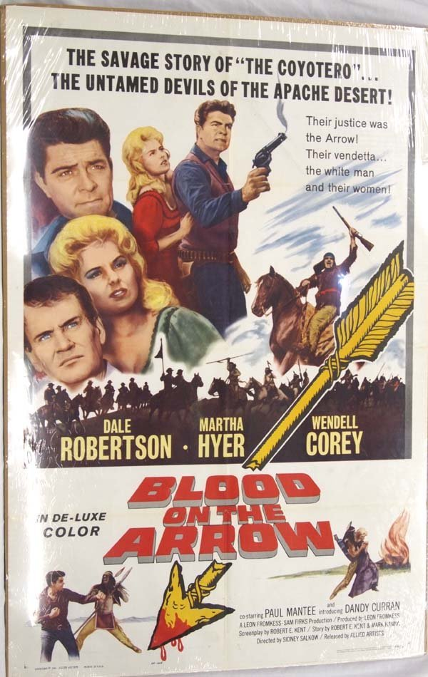 Movie Poster of Blood on the Arrow
