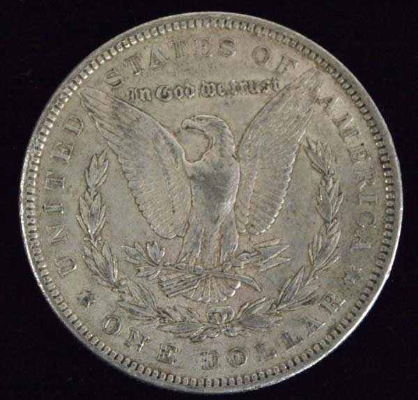 1885 Morgan Silver Dollar - 2