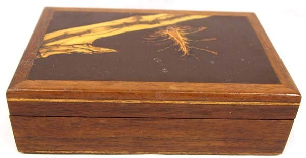Packinger and Jenson Hand Crafted Walnut Wood Box