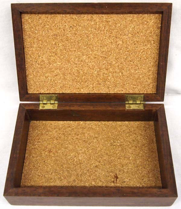 Packinger and Jenson Hand Crafted Walnut Wood Box - 3
