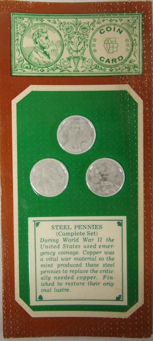 WWII Complete Set Steel Pennies