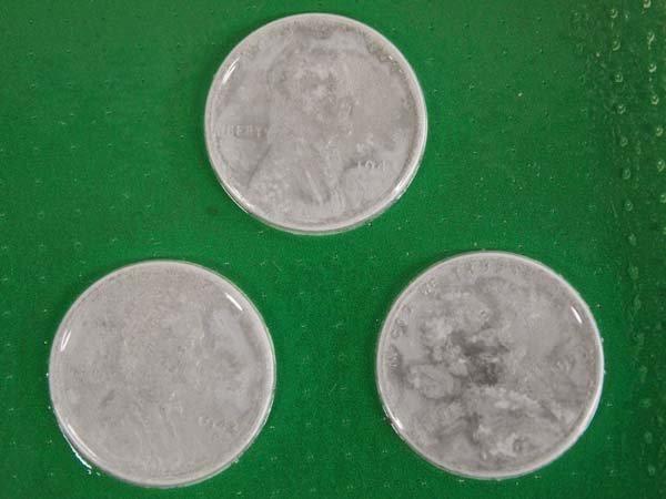 WWII Complete Set Steel Pennies - 2