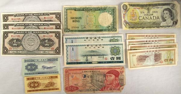 Collection of Paper Currency