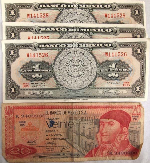 Collection of Paper Currency - 2