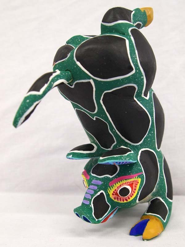 Mexican Oaxacan Carved Pig Alebrije