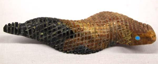 Zuni Rattle Snake Fetish by Farlan & Paulette Quam