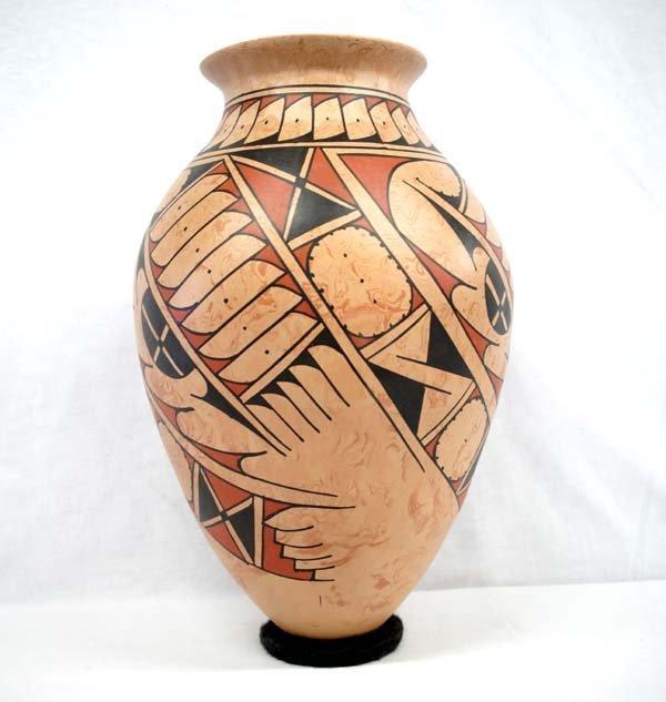 Mexican Mata Ortiz Pottery Olla by Fito Tena