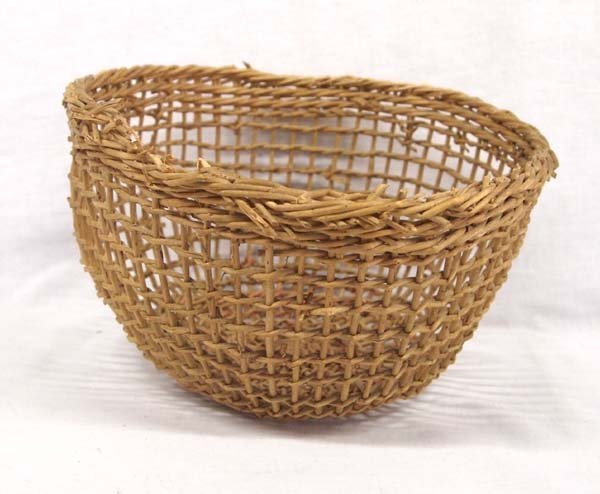 Native American Northwest Coast Clam Basket