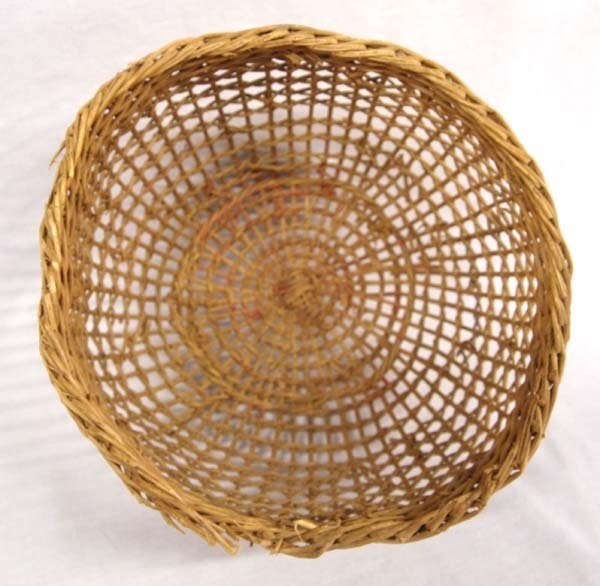 Native American Northwest Coast Clam Basket - 2