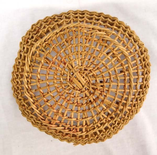 Native American Northwest Coast Clam Basket - 3