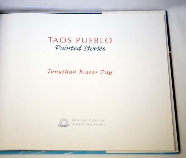 Taos Pueblo Painted Stories by J.W. Day, Hardback - 2