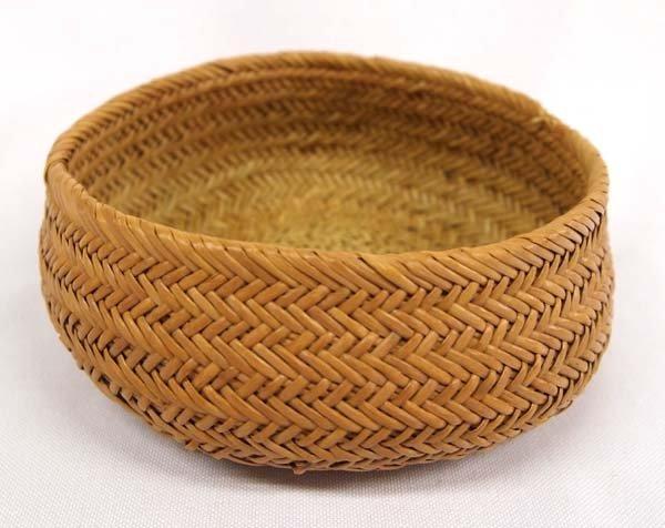 Vintage Woven Native American Basket