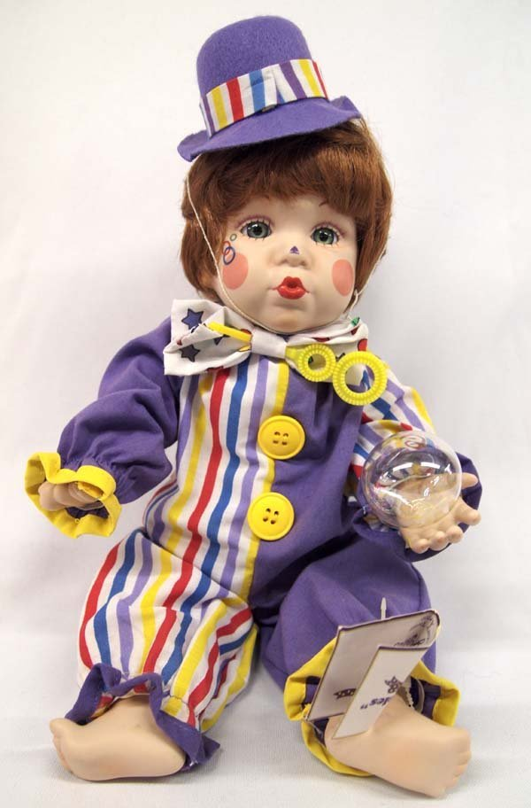 Edwin M. Knowles Fine Porcelain Collectible Doll
