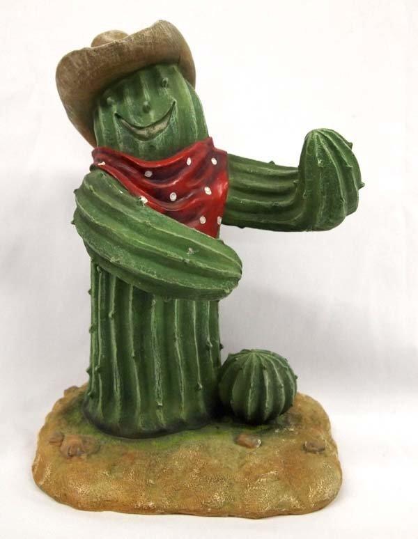 Composition Saguaro Cactus Cowboy