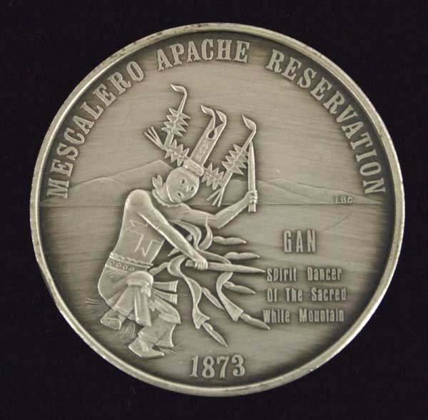 Mescalero Apache Reservation Commemorative Coin