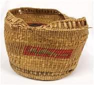 Vintage Native American Makah Basket As Is