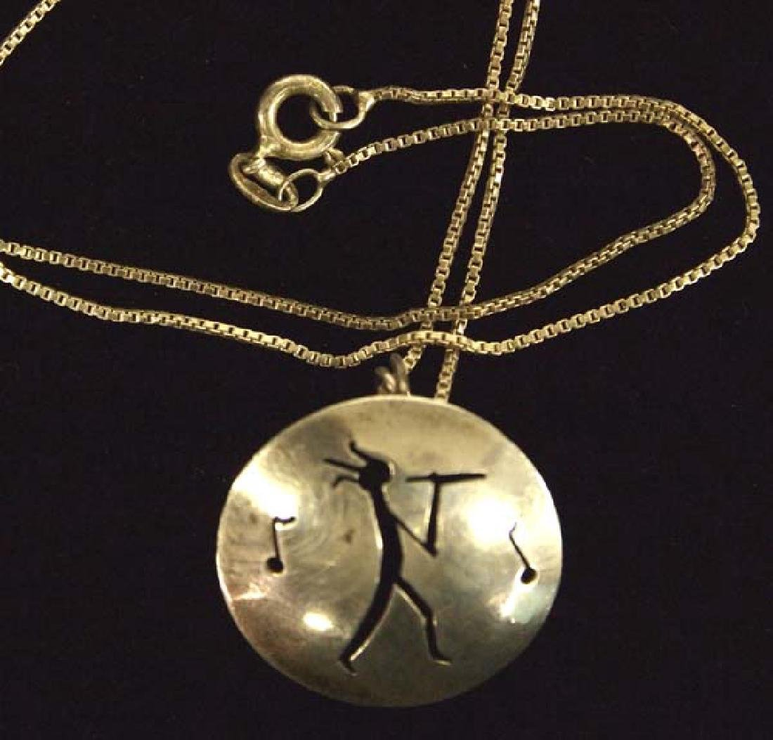 New Mexico Sterling Necklace, 16''L, $6.50 S&H