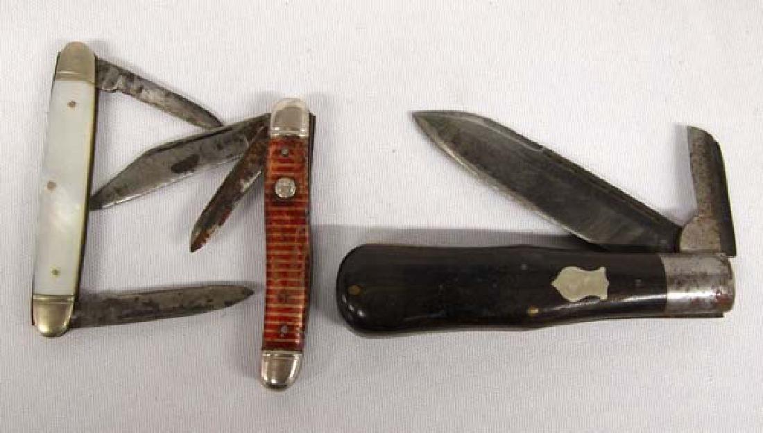 3 Pocket Knives, $9.00 S&H