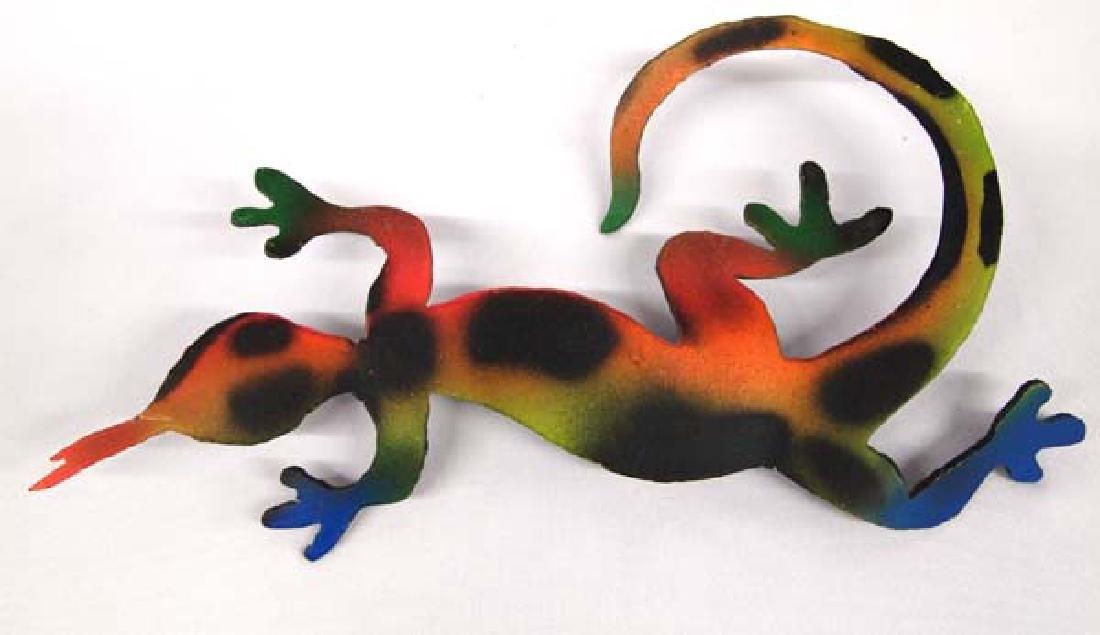 Metal Lizard, 6'' x 11'', $6.50 S&H
