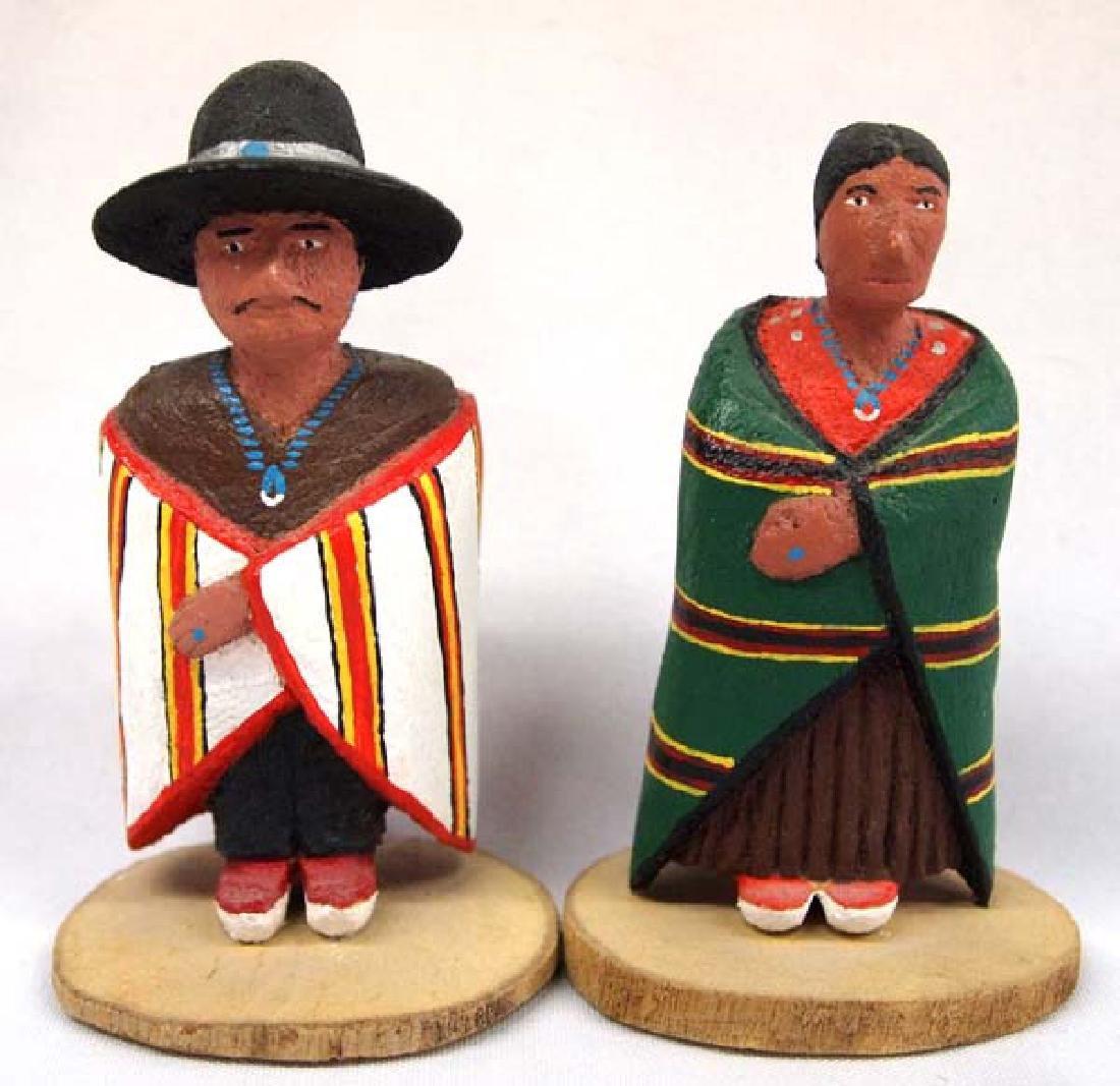 Navajo Carved Wood Folk Art, 2''x 4'', $9.00 S&H