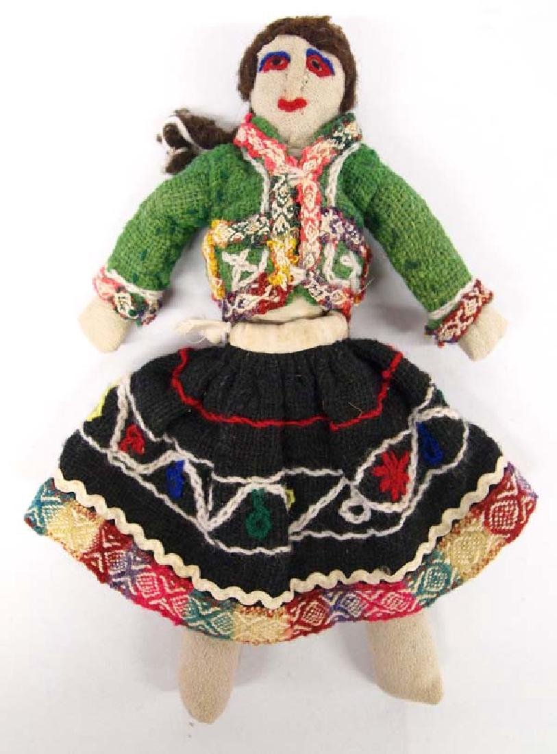 Old Mexican Cloth Doll, 7'' x 11'', $9.00