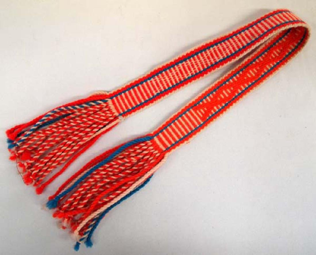 Navajo Child's Sash, 29''L, $6.50 S&H