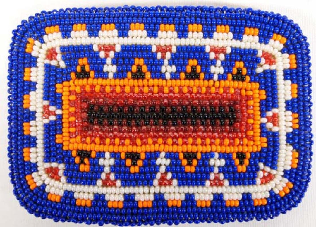 Native American Beaded Buckle, 4''L, $6.50 S&H