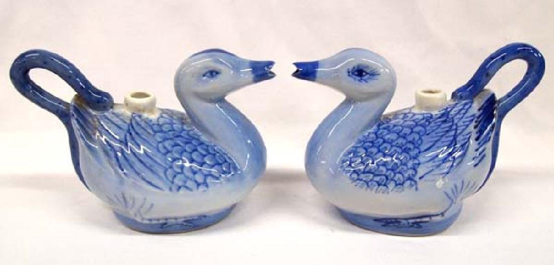 2 Ceramic Duck Pitchers, 7''L, $14.00 S&H