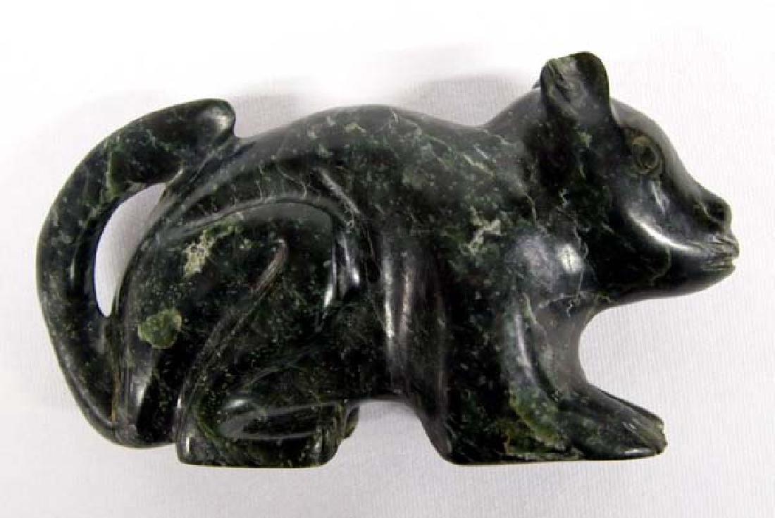 Jadeite Rat Figurine, 5''L, $6.50 S&H