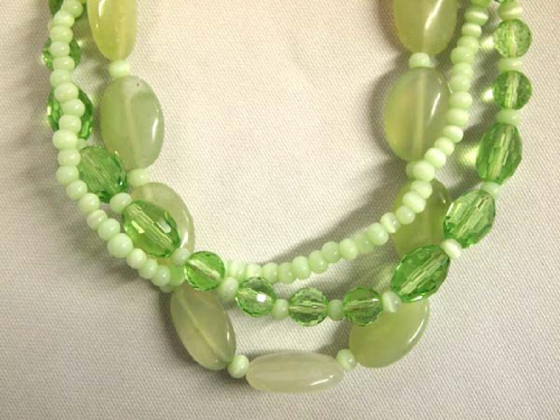 Jadeite Necklace, 28''L, $6.50 S&H
