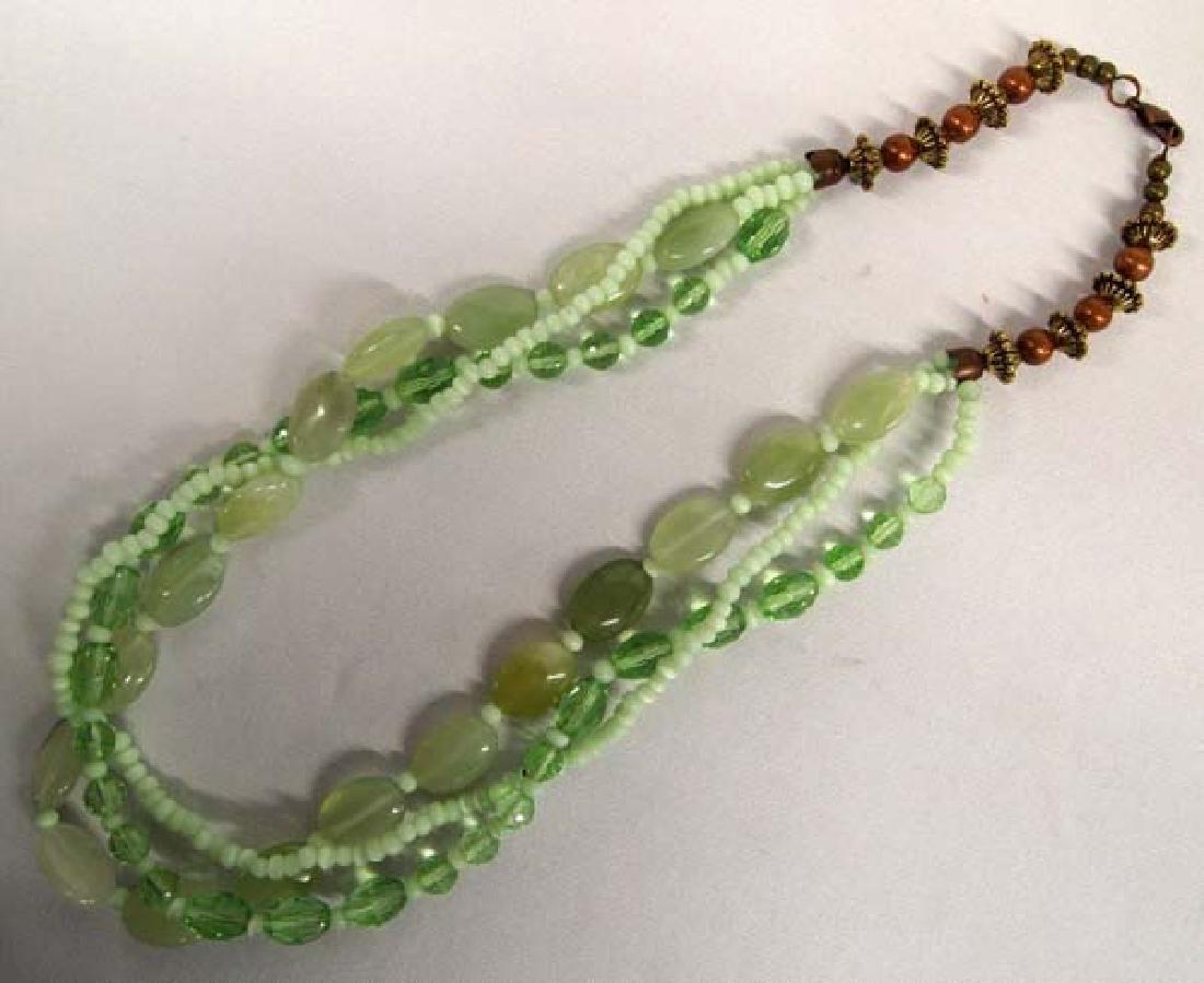 Jadeite Necklace, 28''L, $6.50 S&H - 2